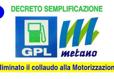 GPL - Metano e Ganci traino: Eliminato il collaudo alla Motorizzazione